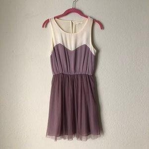 Luxe Purple dress